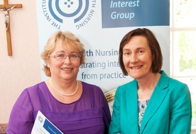Institute of Community Health Nursing - ICHN - Annual Conference at Milltown Park, Dublin. May 2014. No fee for repro - please credit Paul Sherwood.  Copyright Paul Sherwood © 2014