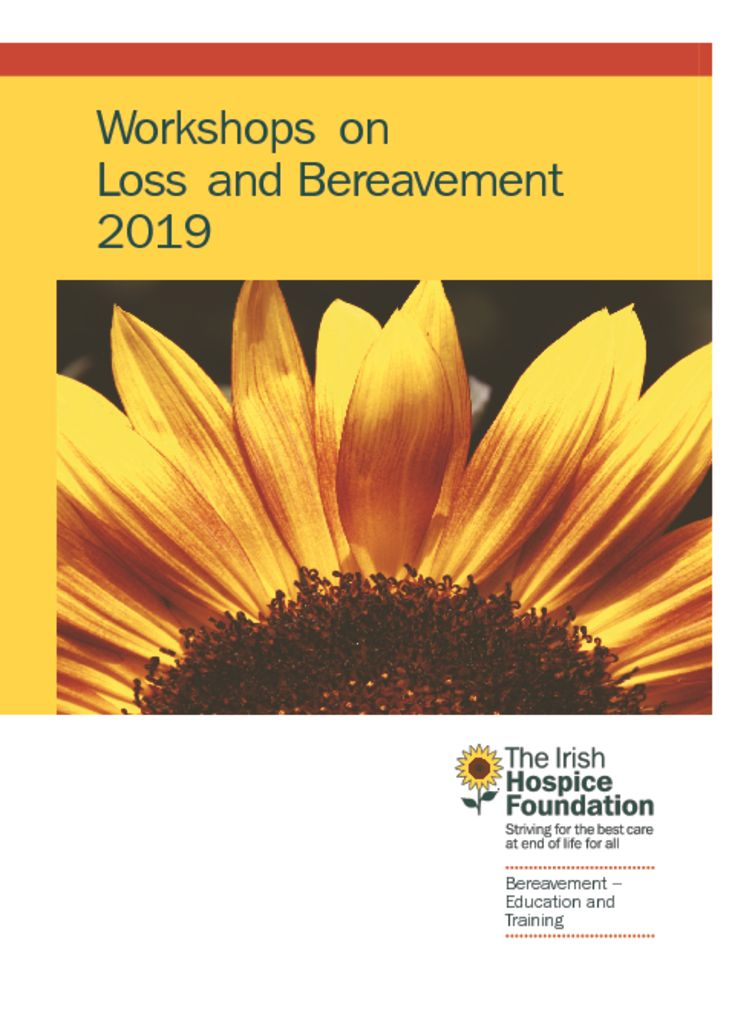 thumbnail of 2019 Workshops on Loss and Bereavement