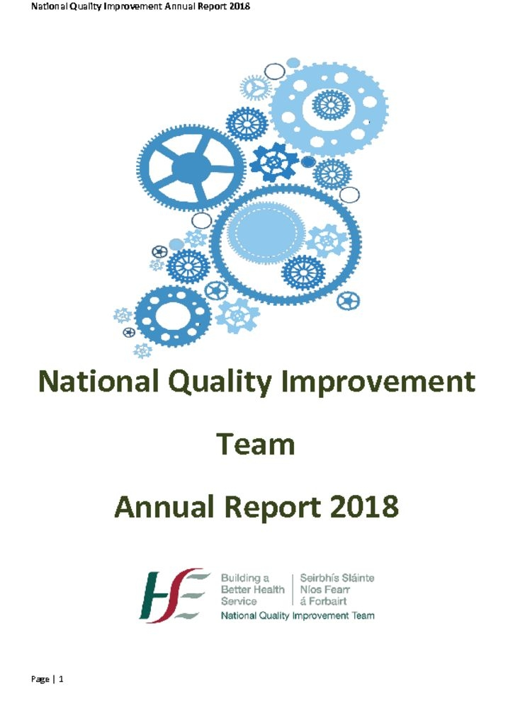 thumbnail of Article 2- National Quality Improvement Annual Report