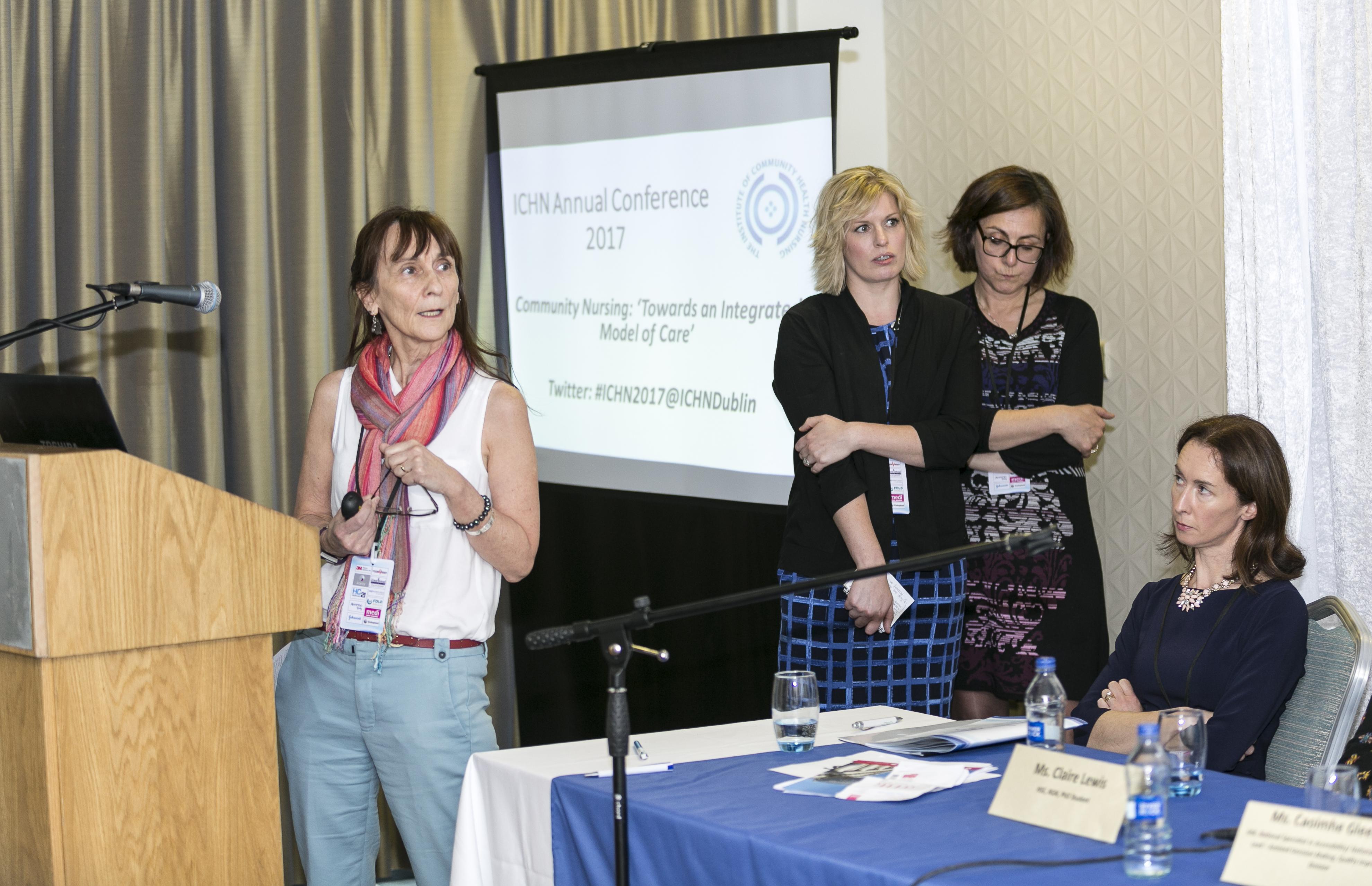 Institute of Community Health Nursing, Conference 2017, held in The Hilton Hotel, Kilmainham, Dublin. May 2017.Photographer - Paul Sherwood paul@sherwood.ie 087 230 9096