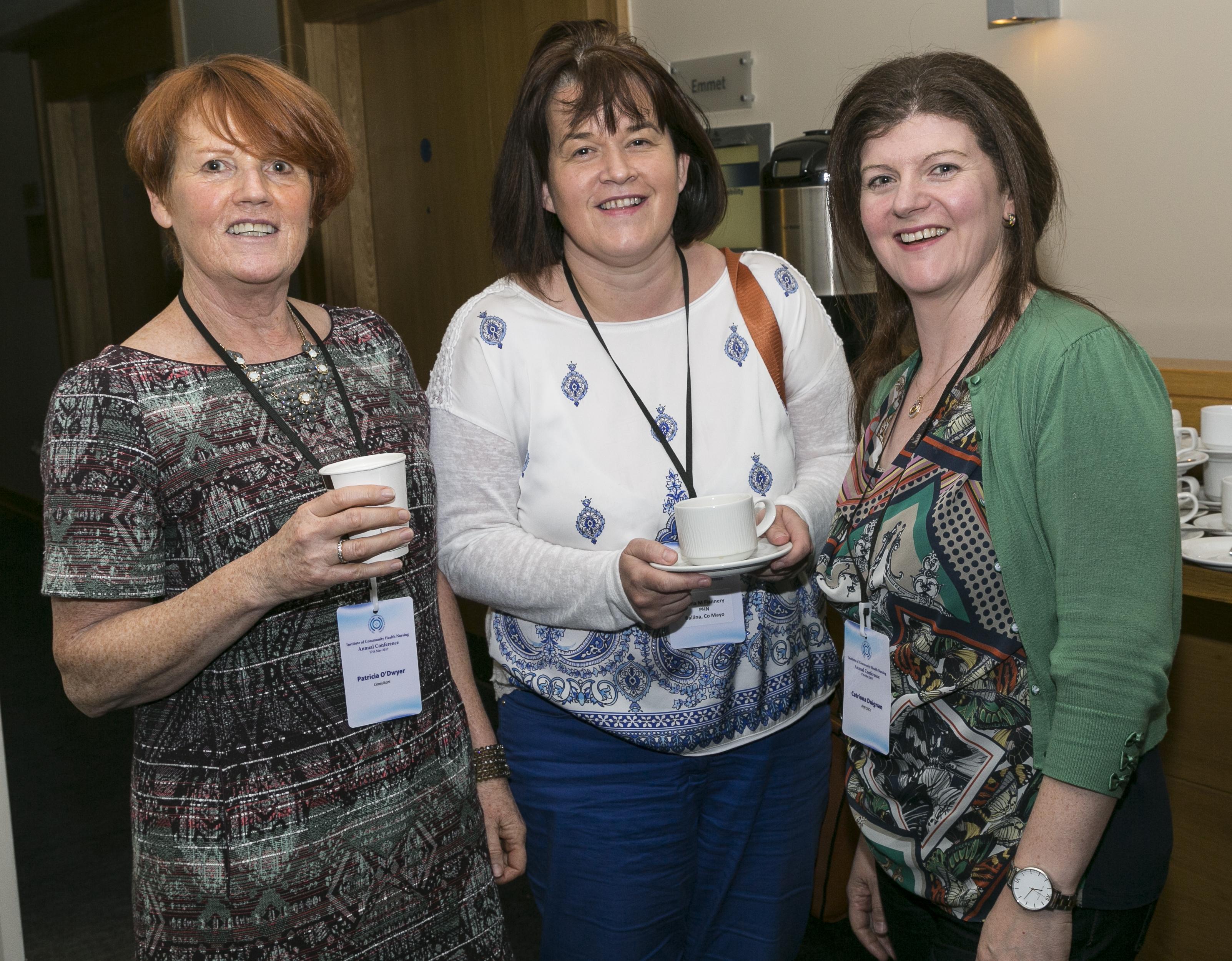 Institute of Community Health Nursing, Conference 2017, held in The Hilton Hotel, Kilmainham, Dublin. May 2017. Photographer - Paul Sherwood paul@sherwood.ie 087 230 9096