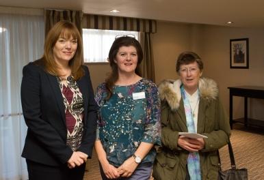 Denise Gillespie, Catriona Duignan & Sister Elizabeth McNicholas (1)