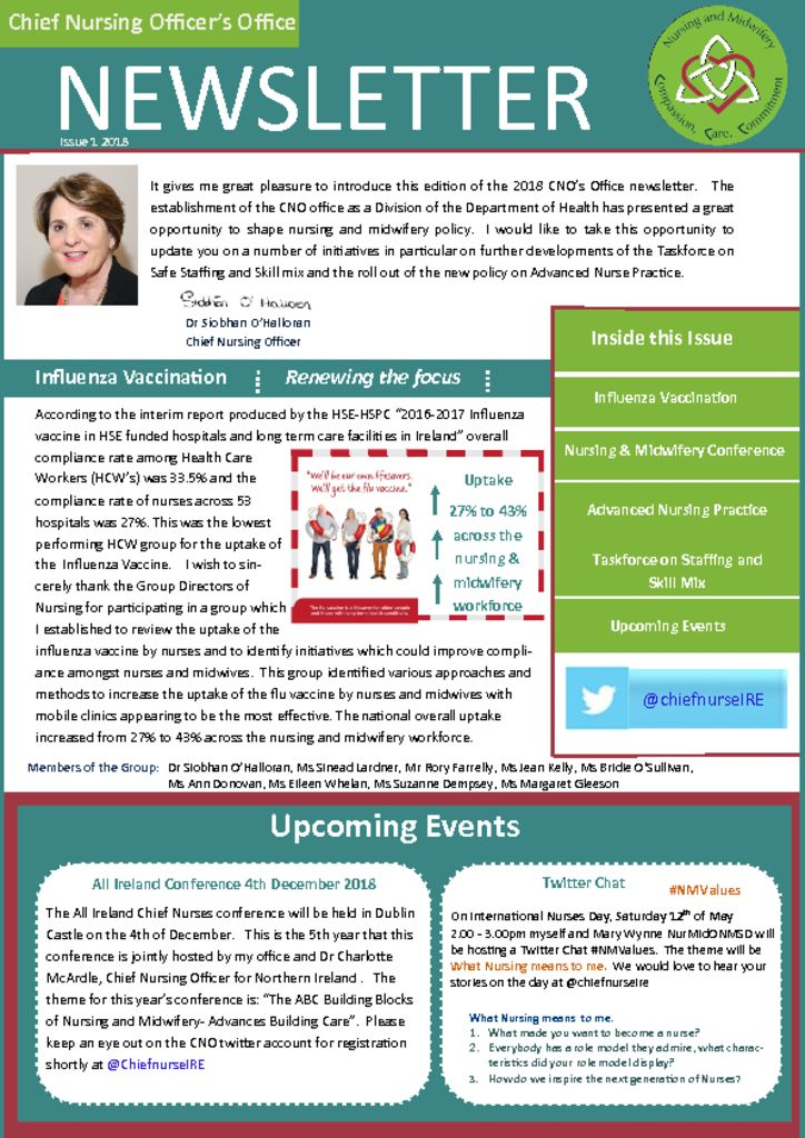 thumbnail of Final Newsletter Issue 1 – 2018