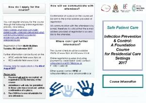 thumbnail of Final Safe Patient Care Course Information leaflet 2017