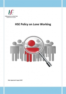 thumbnail of HSE Policy on Lone Working 2017