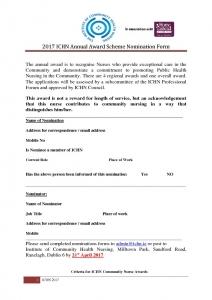 thumbnail of ICHN Annual Nurse Award form 2017