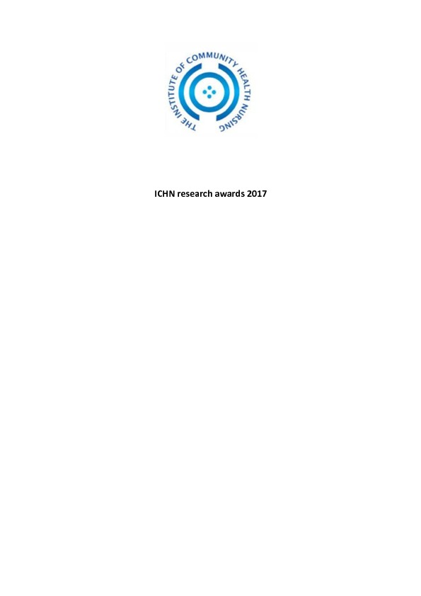 thumbnail of ICHN research awards 2017