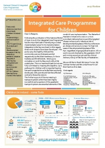 thumbnail of ICP for Children – 2017 Review