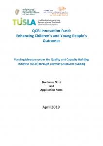 thumbnail of QCBI Innovation Fund information