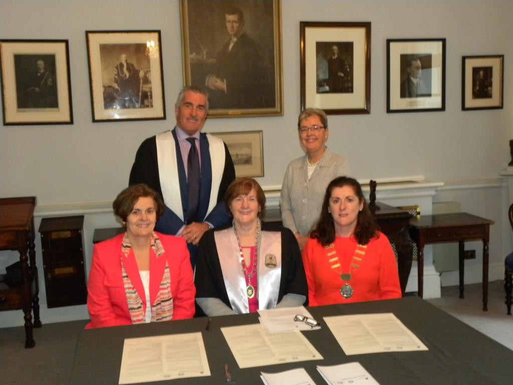 ICHN Collaborations RCSI signing