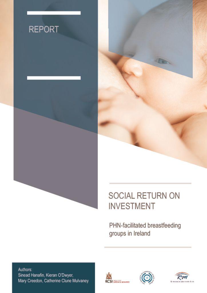 thumbnail of SROI on PHN-led breastfeeding groups main report